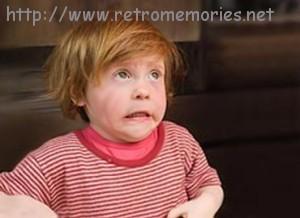 Niño en pleno subidón, tras ingerir drogas proporcionadas por nuestro entrevistado.