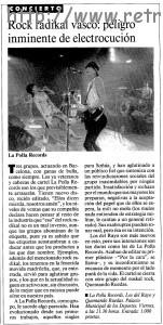 Artículo previo del día 19 de abril sobre el concierto publicado en La Vanguardia