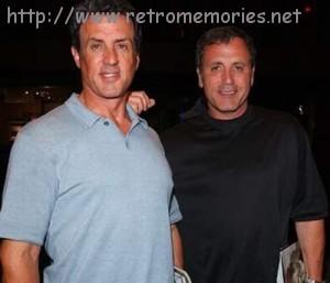 Sylvester Stallone e Frank Stallone