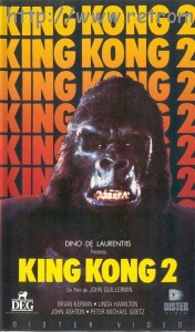 King Kong 2 VHS