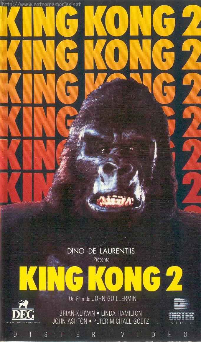 Resultado de imagem para king kong vive 1986