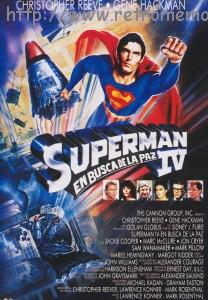 Superman IV En Busca de la Paz POSTER