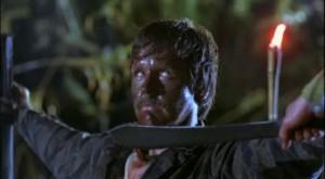 """El prólogo de """"El exterminador"""" se desarrolla en Vietnam."""