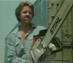 "En ""White fire"" Ginty utilizaba la sierra mecánica mejor incluso que Leatherface."