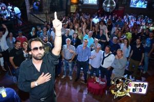"""Reugenio dedica la actuación a """"El Maestro""""."""