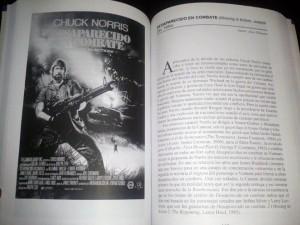 Páginas interiores del libro en las que podéis ver una de las reseñas escritas por nuestro viejuno redactor.