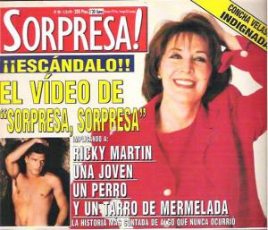 La historia de Ricky Martin, la niña y el perro fue lo que ocasionó que Concha Velasco tenga perdidas de orina.