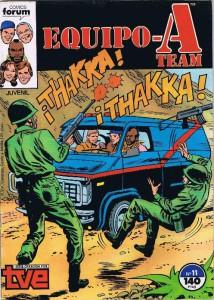 A partir del número 4 las portadas fueron un horror, como por ejemplo esta.